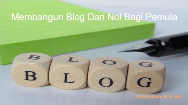 Cara membuat blog menggunakan blogspot,
