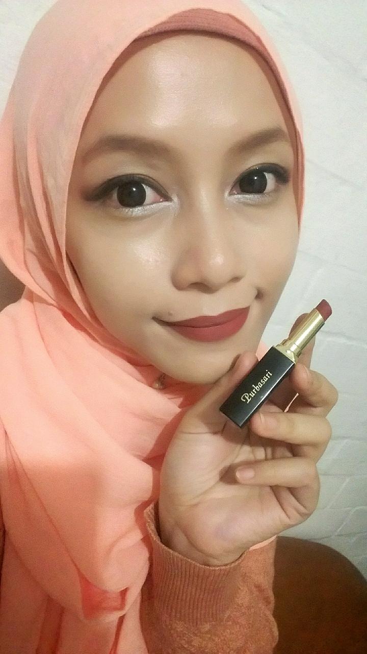 Review Lipstik Purbasari Nomor 86 Color Matte Bancidandan Lipstick