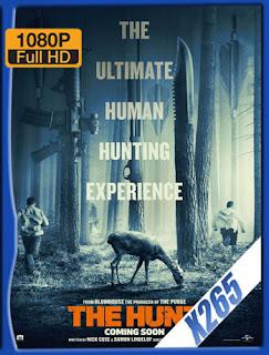 La cacería (The Hunt)  (2020) x265 [1080p] Latino [Google Drive] Panchirulo