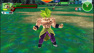 NEW DRAGON BALL SUPER (MOD) TENKAICHI TAG TEAM + MENU PARA ANDROID (PPSSPP)
