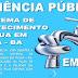 CONVITE: CONVIDAMOS TODA A SOCIEDADE PARA PARTICIPAR DE AUDIÊNCIA PUBLICA COM A EMABSA SOBRE A PROBLEMÁTICA DO SISTEMA DE ABASTECIMENTO DE ÁGUA EM ITIÚBA-BA