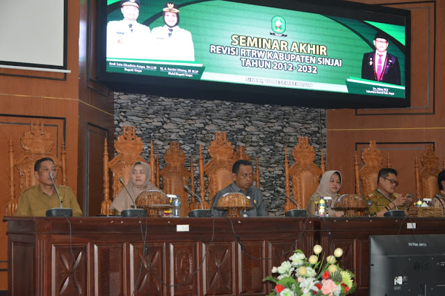 Wabup Sinjai Buka Seminar Akhir Revisi RTRW