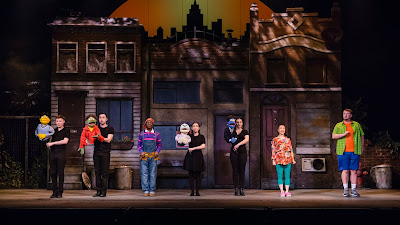 The touring cast of Avenue Q