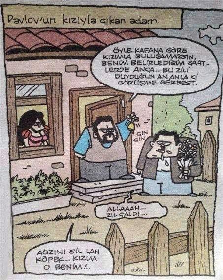 pavlov karikatür