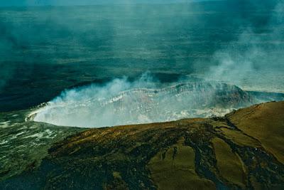 Pengertian, Bentuk dan Ciri Gunung Api Perisai (Shield Volcano)