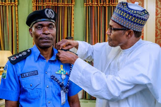 JUST IN: Buhari finally confirms Adamu Mohammed as Police IG