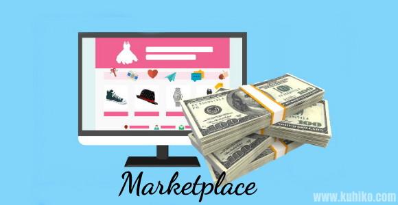 Cara marketplace mendapat untung
