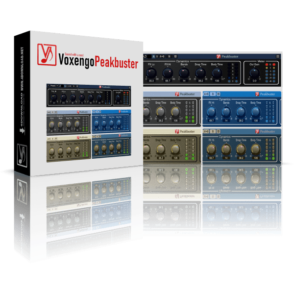 Voxengo Peakbuster v1.0.0 Full version