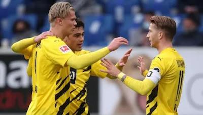 ملخص واهداف مباراة بوروسيا دورتموند وهوفنهايم (1-0) في الدوري الألماني