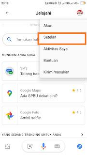 Cara matikan google suara