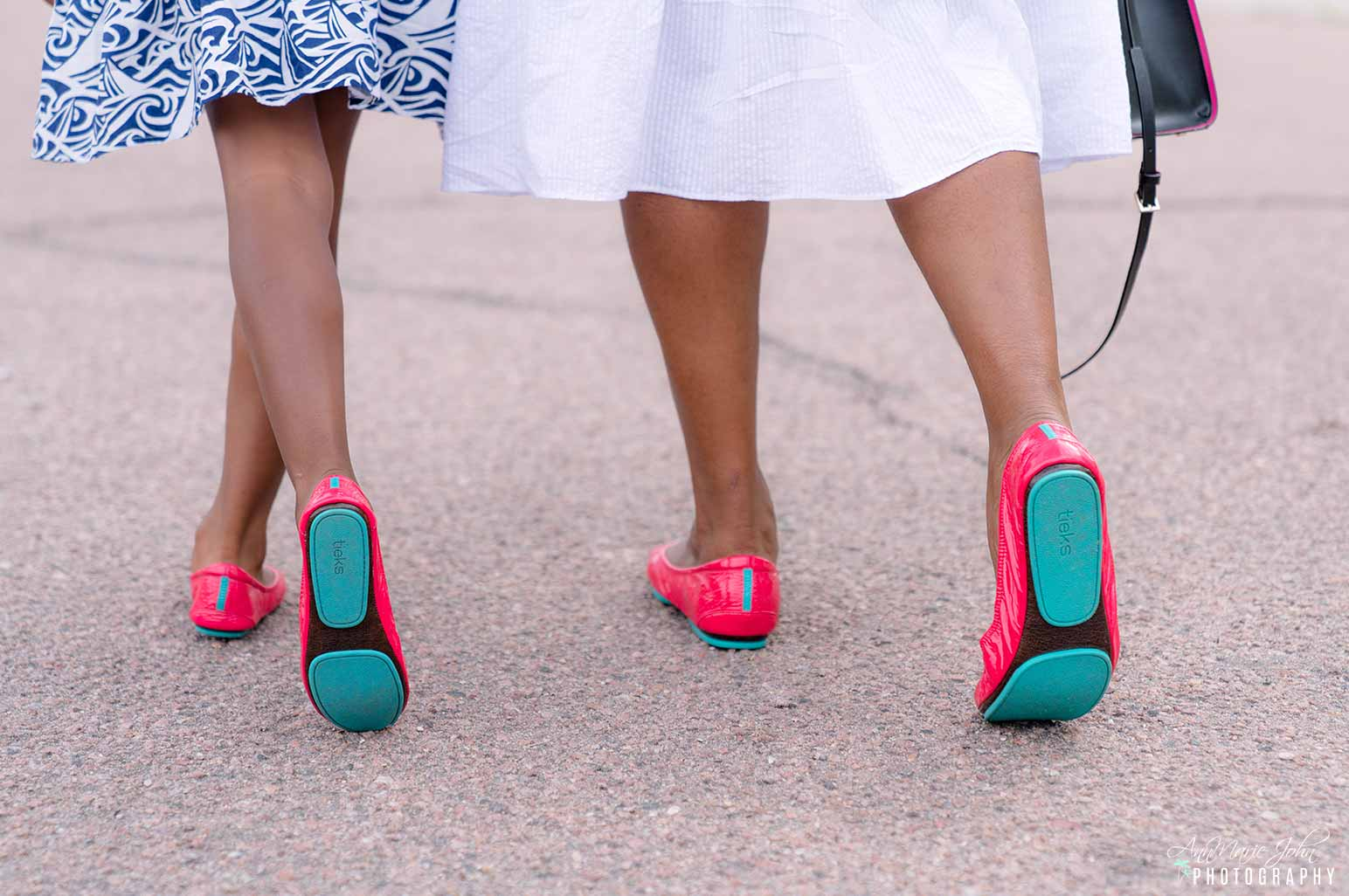 Adult and Little Miss Tieks - How to Celebrate Mother's Day From Far Away