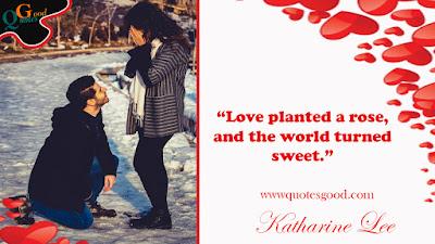 Happy valentine's love quotes
