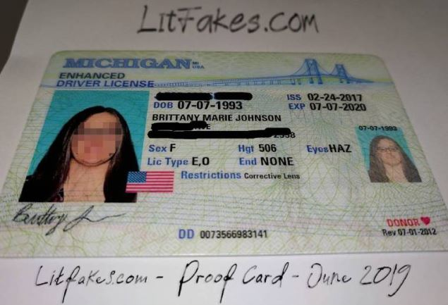 litfakes.com buy fake ID drivers licenses scannable card review