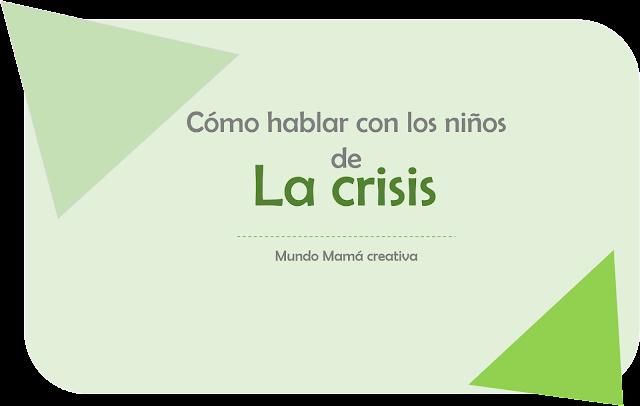 la crisis y los niños
