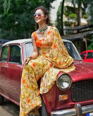 tmkoc-anjali-bhabhi-saree-photos-viral | blogpress.in