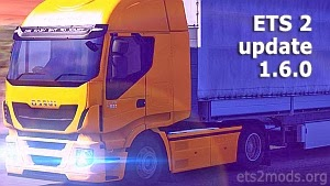ETS 2 update patch 1.6.0