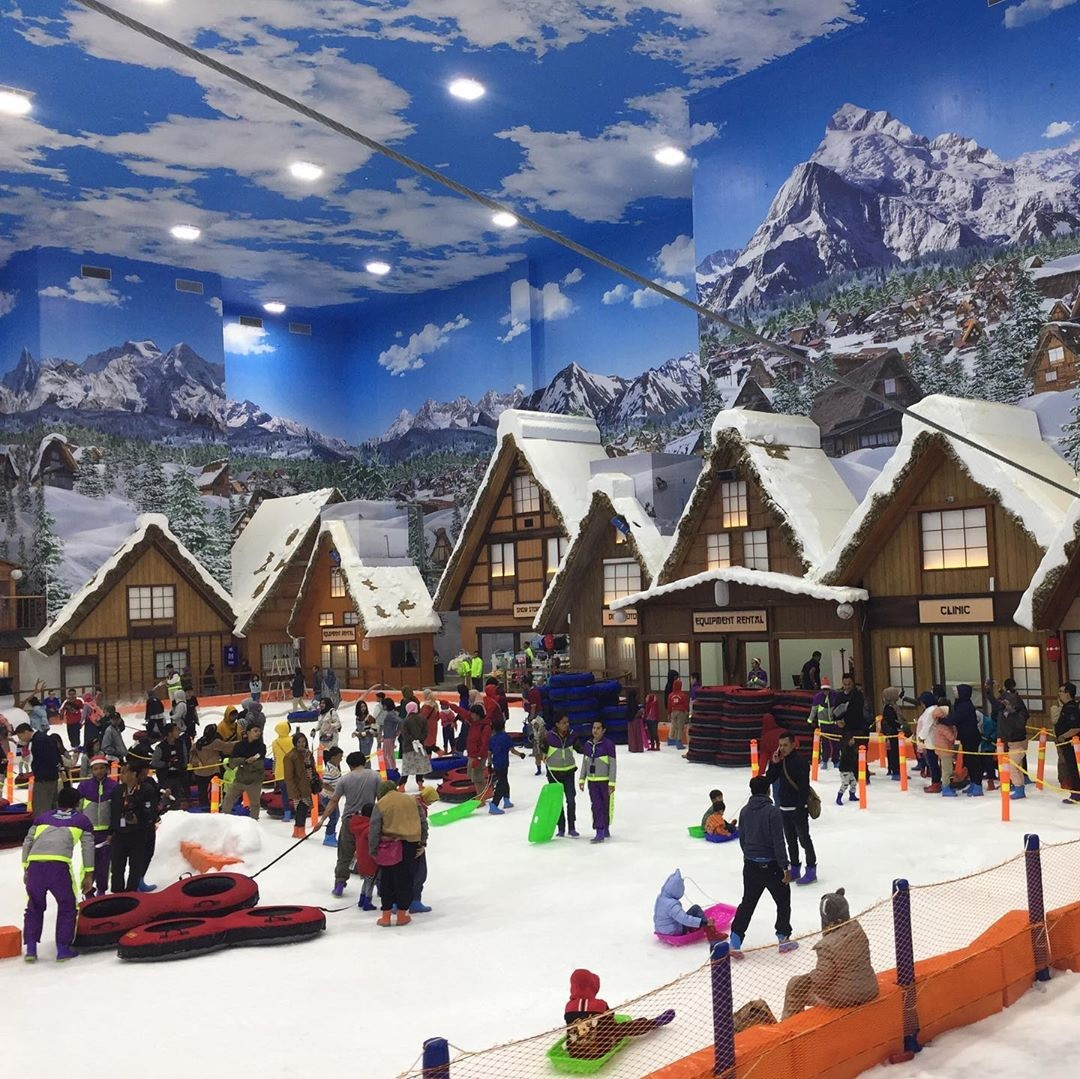 Tempat Wisata Baru Trans Snow World Bintaro