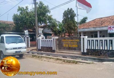 Kantor Desa Siluman, Kecamatan Pabuaran. Poto jepretan Mang Dawocx - Facebooker Subang ( FBS )
