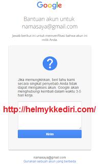 Cara mengembalikan akun google yang dihack