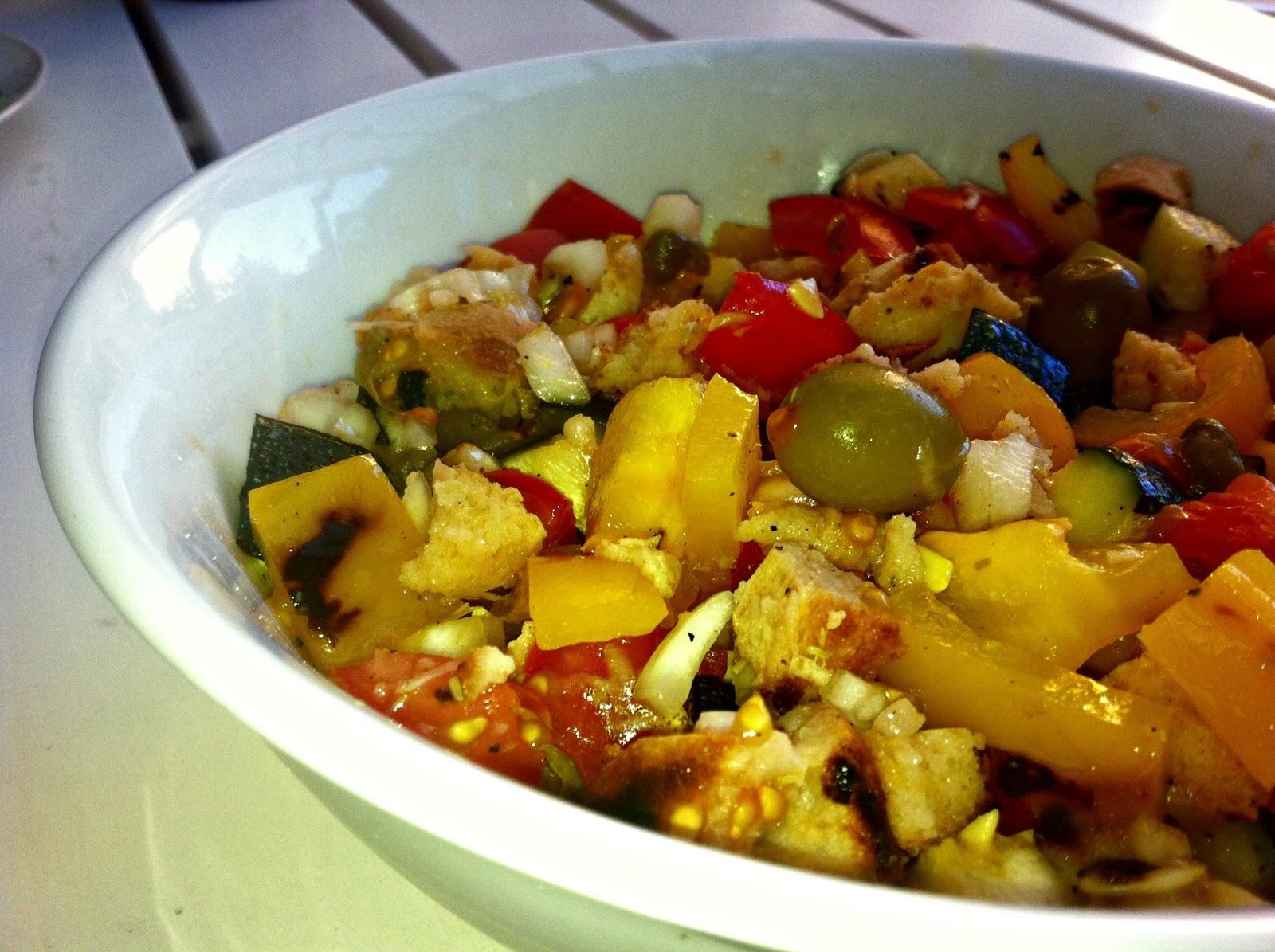HelseQvinden: Italiensk brødsalat - lækkert både som tilbehør eller hvis du spiser den alene