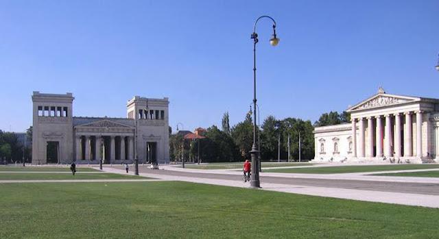 Königsplatz em Munique