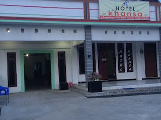 Hotel khansa grogot