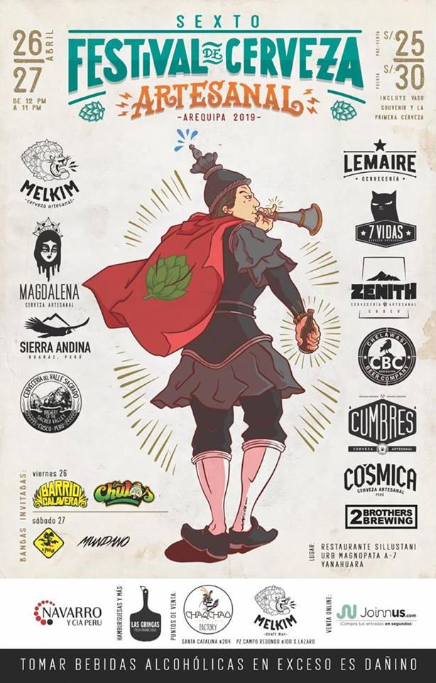 VI Festival de Cerveza Artesanal 2019 - 26 y 27 de abril