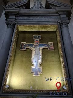 Immagine - Crocifisso - Lorenzo di Niccolò Gerini - Chiesa di San Domenico