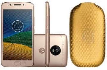 Kit Smartphone Moto G5 XT1672 Ouro