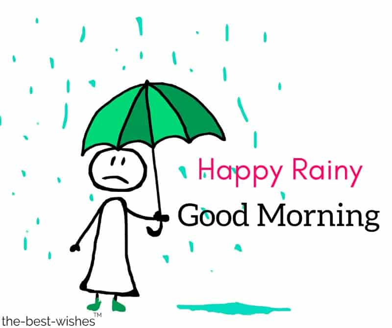 rainy day good morning images