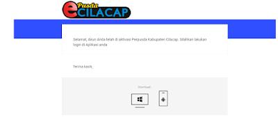 Cara Registrasi Epusda Cilacap.