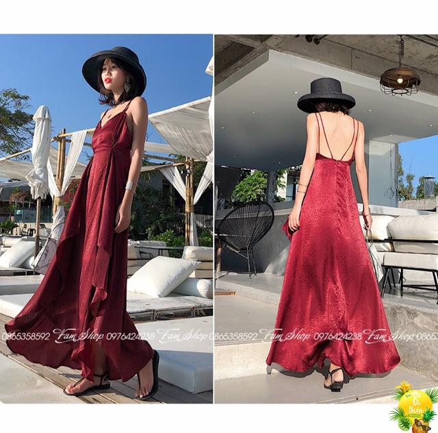 Shop ban vay maxi di bien gia re tai Hoan Kiem