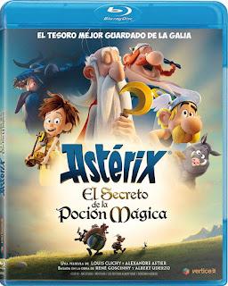 Astérix: El Secreto de la Poción Mágica [BD25] *Con Audio Latino