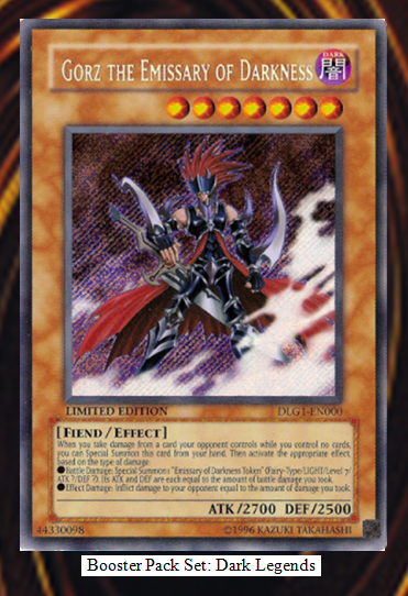 Dueling Archetype: Card Review: Gorz, The Emissary of Darkness