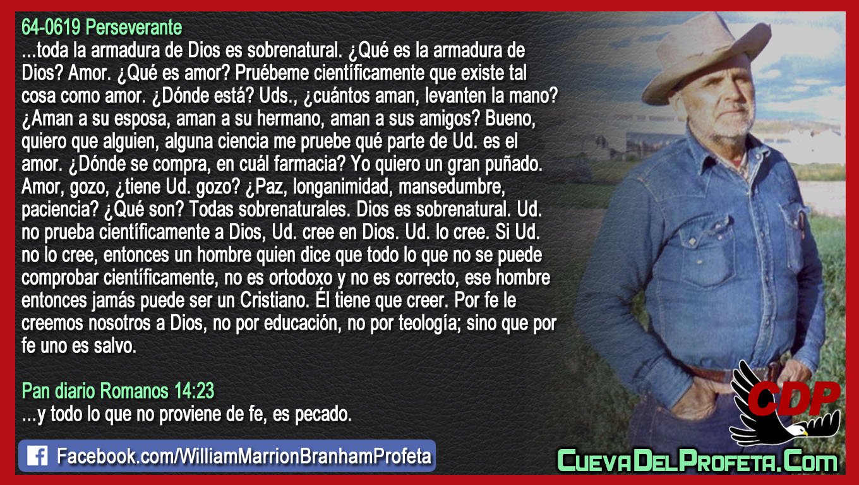 No por educación No por teología - William Branham en Español