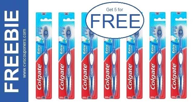 FREE Colgate Toothbrush CVS Deals