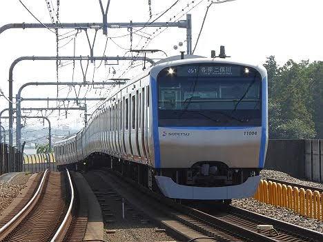 相模鉄道 各停 二俣川行き9 11000系(2015.5.31ダイヤ改正で日中廃止)
