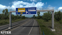 ets 2 realistic signs v1.1 screenshots 8