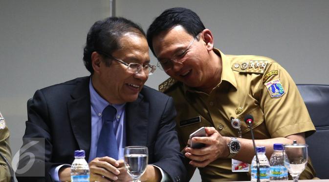 Rizal Ramli Tersingkir dari Kabinet, Ahok Tersenyum