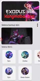 APK Selena Skinjector ML