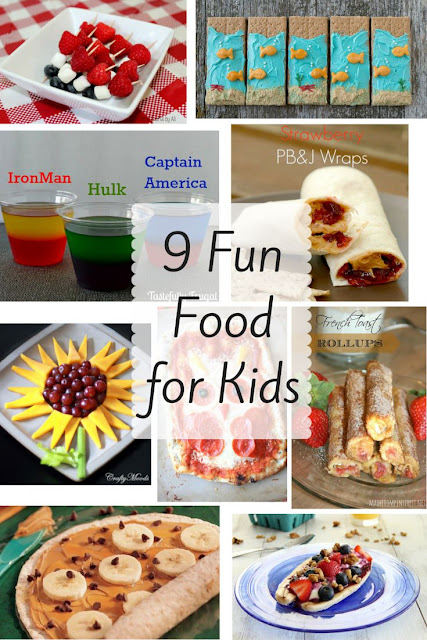 Fun ways to get kids to try new food