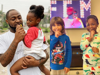 Davido's First Daughter, Imade Promotes Her Father's Latest Song, FEM