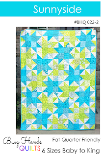 Sunnyside Quilt Pattern by Myra Barnes