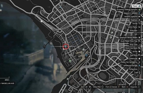 GTA 5, Human Locations, Andy Moon