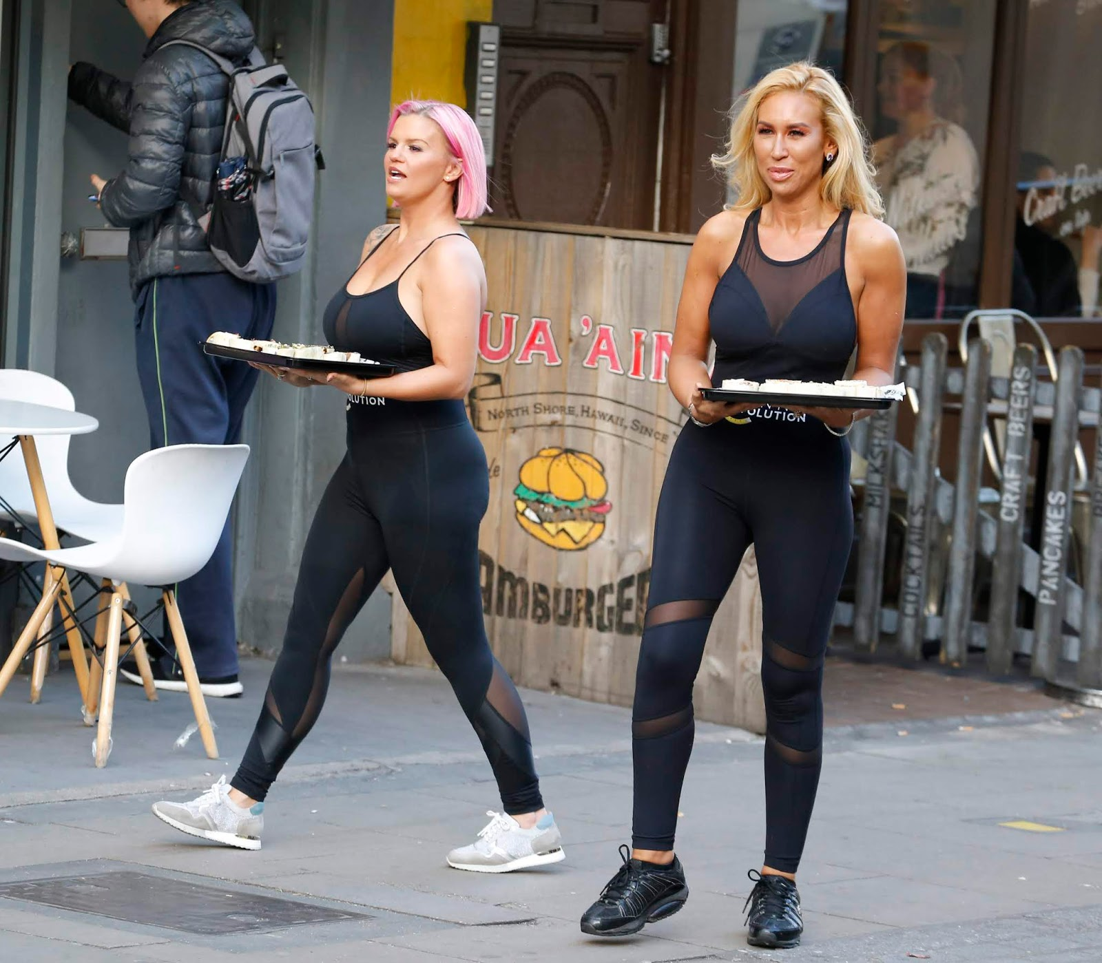 Kerry Katona Helps Amipka Pickston Launch Her New Weight Control Programme