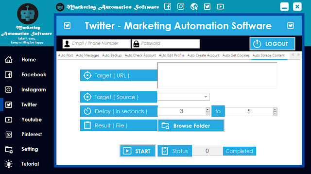 Cara Cepat Mengambil Konten Postingan Twitter Secara Automatis