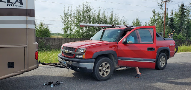 Getting the Avalanche hook up to be flat towed