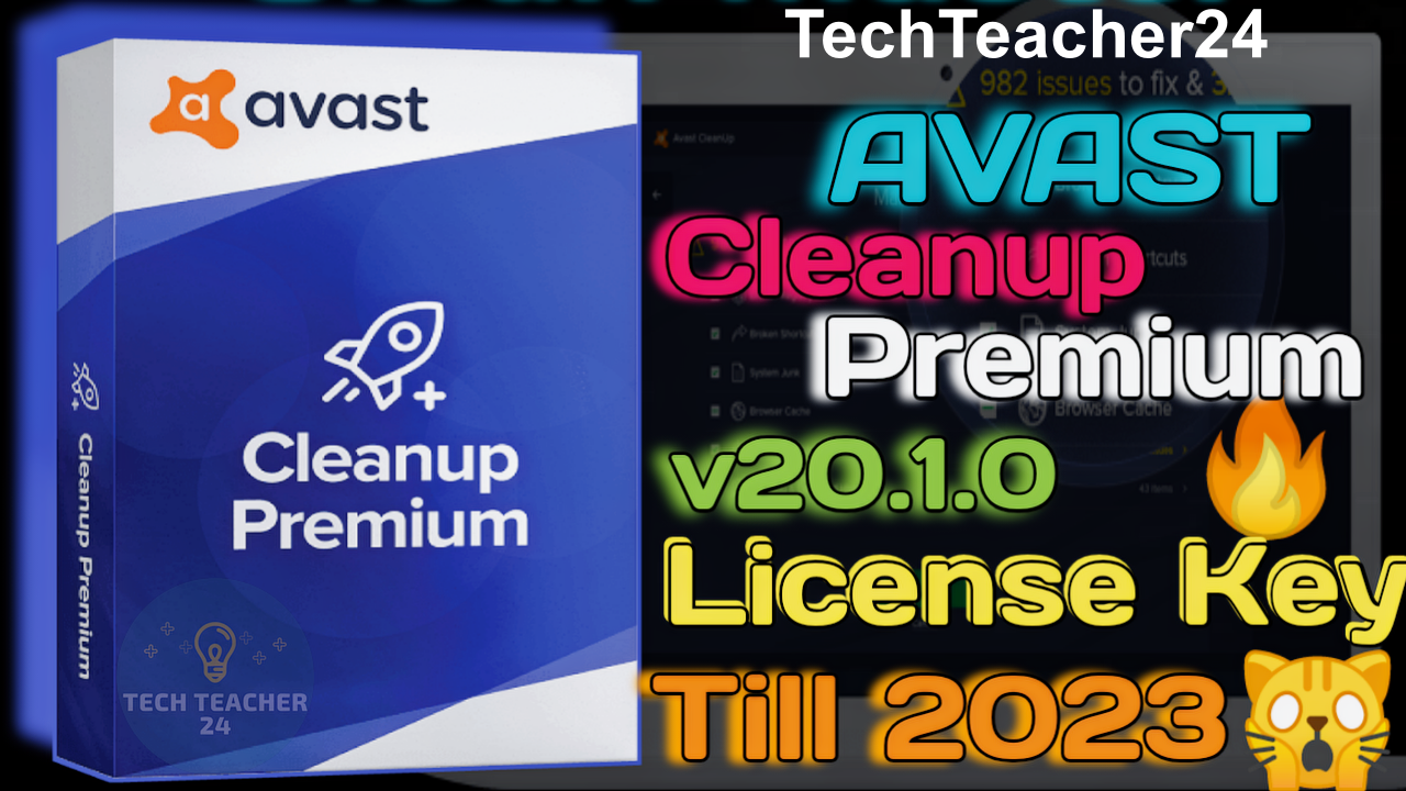 Avast Cleanup Premium 20.1 License Key 2020 || How to ...