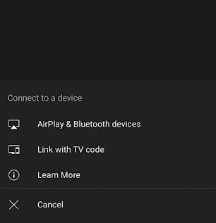 Fix Unable to Cast YouTube to TV with TV Code
