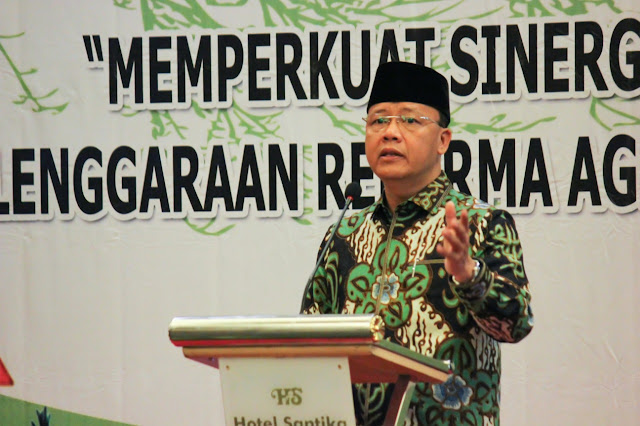 Plt Gubernur Bengkulu Buka Rakor Gugus Tunas Reforma Agraria